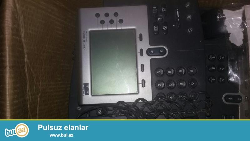 Cisco  IP phone <br />\\\\r\\\\nCİSCO İP PHONE  7960<br />\\\\r\\\\nCİSCO İP PHONE  7940<br />\\\\r\\\\nCisco marşrutizator Model: 805<br />\\\\r\\\\nCisco ATA 186 analiq tel...