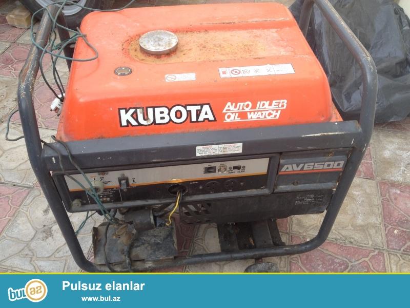 Generator işlek veziyyetdedi.4500VA-dı. İsteyen olsa qiymetde müyyen qeder razılığa gelmek olar.