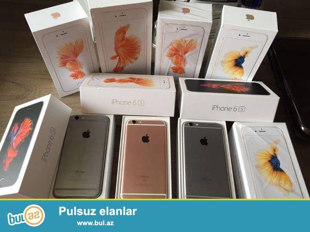 Iphone 6s, iphone 7 pakofkada satilir, her rengi var,  Dubay variantidir, orginaldan heç bir ferqi yoxdur...
