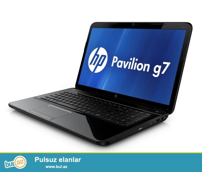 HP-Pavilion G7<br /> Pro: i5 3230M  2.60GHz <br /> Ram: 6GB <br /> Vga: 2GB <br /> Screen: 17...