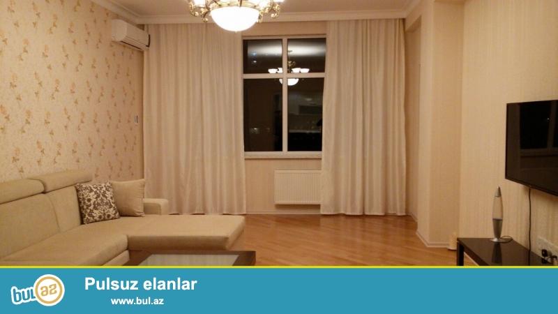 Новостройка! Сдается 3-х комнатная квартира в центре города, в Ясамальском районе, по улице Б...