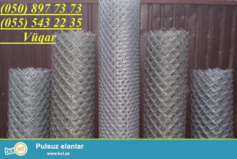 Hasar üçün tor (setka) istehsal edilir, topdan və pərakəndə satışı həyata keşirilir...