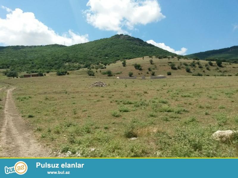 Siyezen rayonu Qala-Alti kendinde sanatoriyanin yaxinliqinda yola yaxin 12 sot kupcali torpaq sahesi satilir...