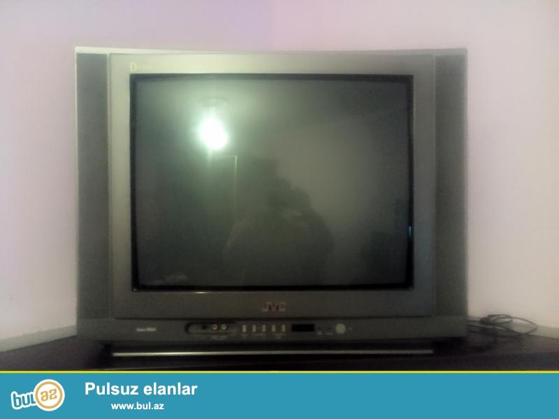 JVC model tv satilir. Hec bir problemi yoxdur.  Ustada olmayib...
