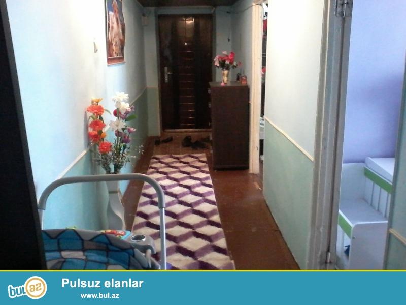 Naxcivan seherinde  mikrorayonda ferda sirniyyatin yaninda  5 mertebeli binanin 2- ci mertebesinde 2- otaqli her seraiti olan bina evi satilir...