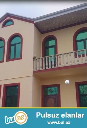 Tecili yeni tikilmiw ve yenice temirden chixmiw ikimertebeli heyet evi satilir...