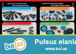 Türkiyədə istehsal olunmuş yüksək keyfiyyətli avadanlıqlardır.