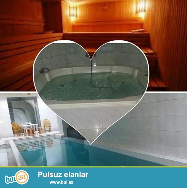 Hamam sauna...<br /> Giriw: parnoy + cakkuzi + baseyn= 5azn<br /> Masaj=10azn<br /> Kise=10azn<br /> Venik(supurge)=10azn<br /> Serfeli qiymet yuksek xidmet...
