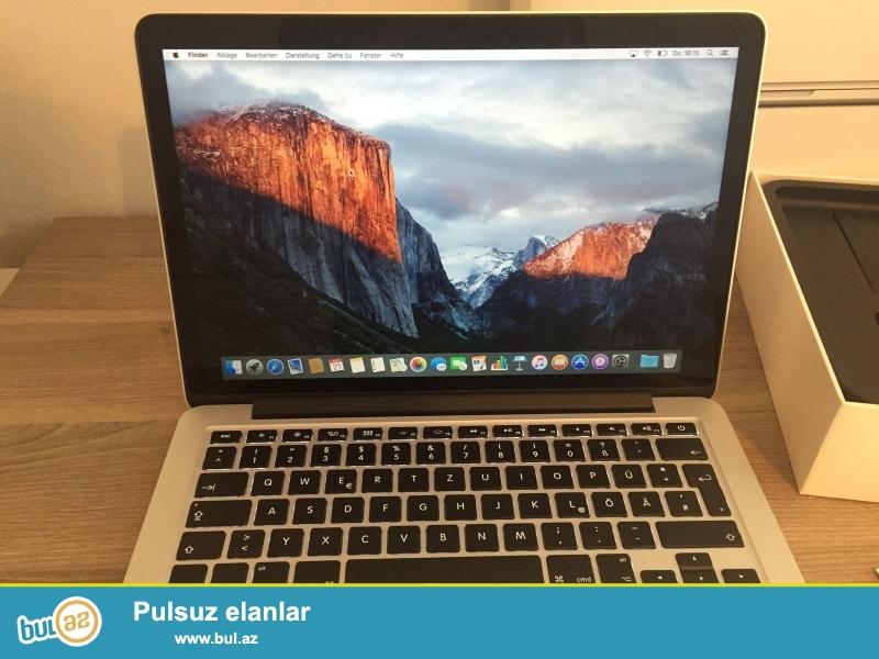 2 pulsuz 1 almaq almaq<br /> <br /> <br /> <br /> Hard Drive Capacity: 512 GB PCI SSD Flash Product Family: MacBook Pro Retina<br /> Əməliyyat sistemi: MacOS 10...
