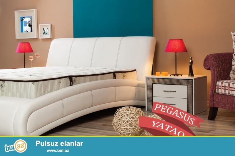 """Türkiyə istehsalı yüksək keyfiyyətli """"PEGASUS"""" yataq 6 aylıq faizsiz kreditlə 1000 AZN..."""