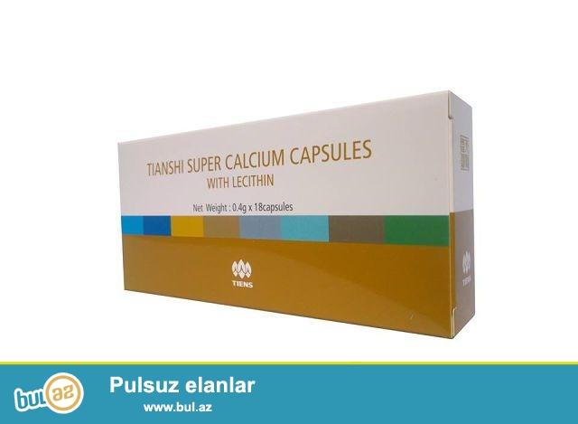 Bu unikal məhsulun tərkibi kalsium tozundan,lesitin,taurin,vitamin B və C-dən ibarətdir...