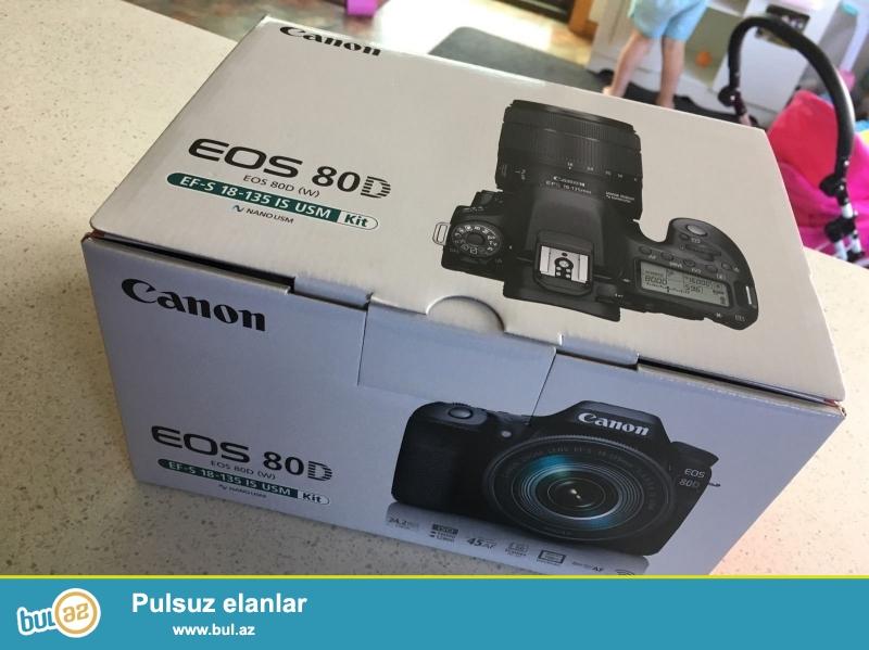Xmas yenə burada !!!<br /> <br /> promo.promo !!!<br /> <br /> EF-S 18-135mm Lens ilə CANON EOS 80D...
