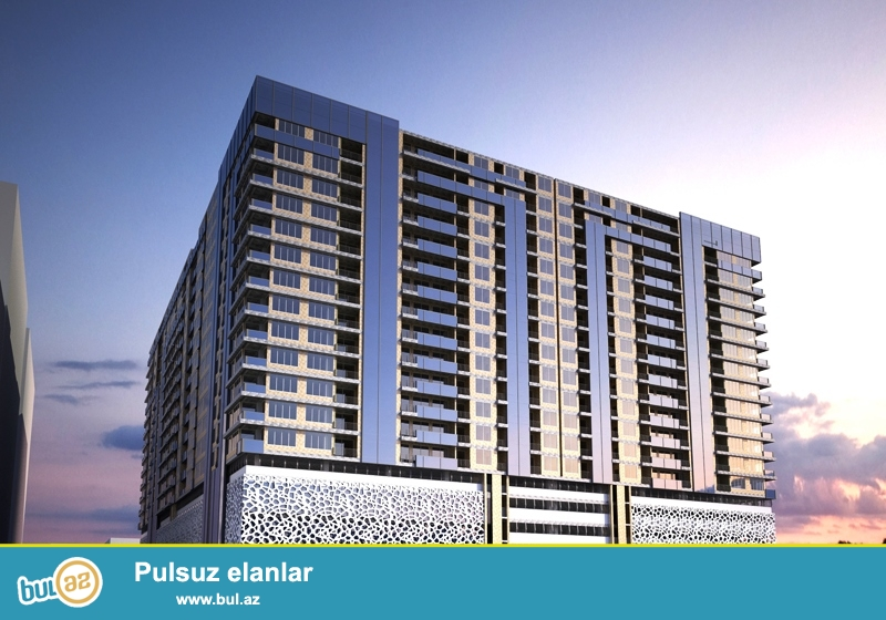 """Satılır şəhərin ən gözəl yenitikili binalarindan biri olan """"Azure Park"""" yaşayış kompleksində 3 otaqlı mənzil..."""