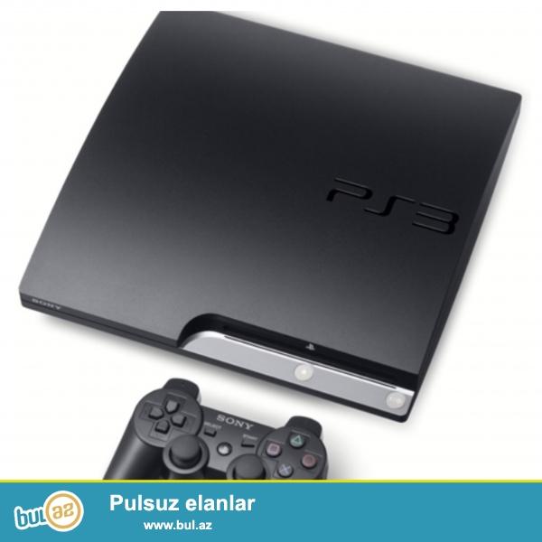 Playstation 3 prosufkali satilir icinde 10 eded oyun cosik<br /> Whatsapp 0519289010