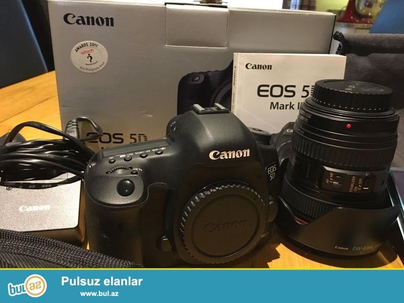 Xmas yenə burada !!!<br /> Promo! Promo !! Promo !!!<br /> <br /> <br /> <br /> Canon 5D Mark III Digital Camera<br /> Canon 24-105mm F / 4L USM AF Lens IS<br /> lens Cap E-77U 77mm snap<br /> Lens Dust Cap E<br /> EW-83H<br /> LP1219 Soft Lens Case<br /> LPE6 oluna Lithium-Ion Battery Pack<br /> LC-E6 Battery Charger<br /> <br /> bağlama haqqında sorğu üçün aşağıdakı məlumatları əlavə:<br /> <br /> skype: unbetable...