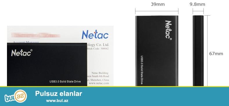 Yeni çatdırılma pulsuz<br /> SSD    <br /> Növü:Xarici<br />     Stil:HDD<br />     Paketi:Var<br />     Ölçüsü:2...