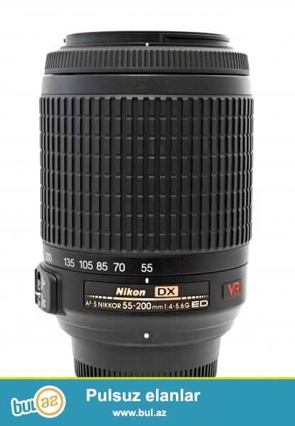 nikon 55-200 lens satiram ciddi aliciya endirim olacaq<br /> nomrem 051 641 59 03