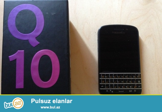 blackberry q10 satiram ela isleyir problemsizdir barter etmirem...