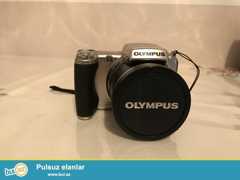Olympus SP-800UZ fotoaparati alinib ama cox az cemi bir nece defe istifade olunub...