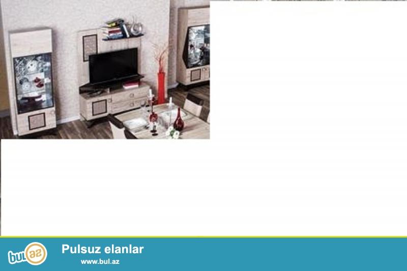 Tecili- otaq mebeli satilir televizor altliqi ve her 2 yanliqi ile teze alinib Embawoddan ...