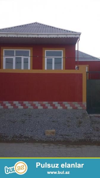 DIQQET!! Xirdalan seh A. Memmedov kucesinde yerlesen sahesi 80   m2 tikilen 1 mertebeli  3 otaqli, tam seraitli, temirli heyet evi satilir...