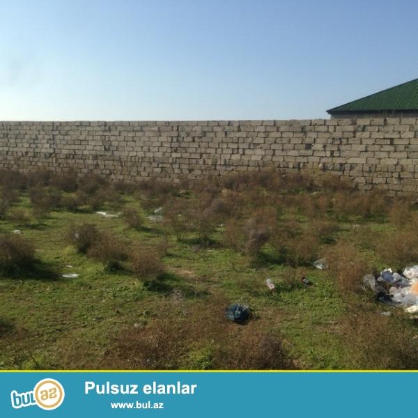 Hovsandan Turkana geden yolda, Aqropromun baglarinin yaninda DENIZE yaxin yerde yashayish evlerinin arasinda torpaq satiram...
