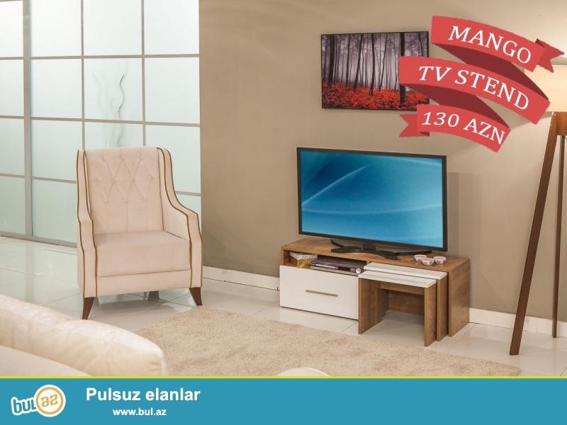 """Türkiyə istehsalı yüksək keyfiyyətli """"MANGO"""" TV stend 6 aylıq faizsiz kreditlə 130 AZN..."""