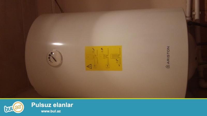 80litrlik paslanmaz termostatli az işlenmiş ariston su qizdirici