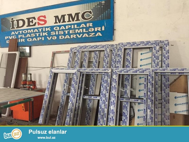 bizim wirket ides mmc sizlere tam kefiyetli ve 3 il zemanetli iw teklif edir her modelde qapi ve pencerelerin yigilmasi wirketimiz Azerbaycanin istenilen bolgesinde xidmet gosterir qiymetler olculere gore cixarilir