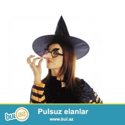 Cadı Burnu ve Gözlüğü<br /> <br /> Cadılar Bayramı ruhuna en uygun aksesuar!<br /> <br />  <br /> <br /> Cadılar Bayramı kutlamalarında, partilerde kullanacağınız eğlenceli bir aksesuardır...