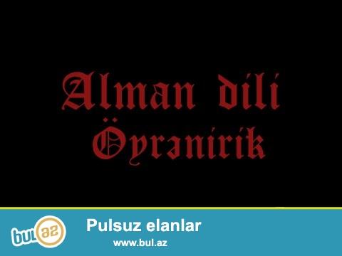 Zinyət Tədris Mərkəzində ALMAN dili kursları...