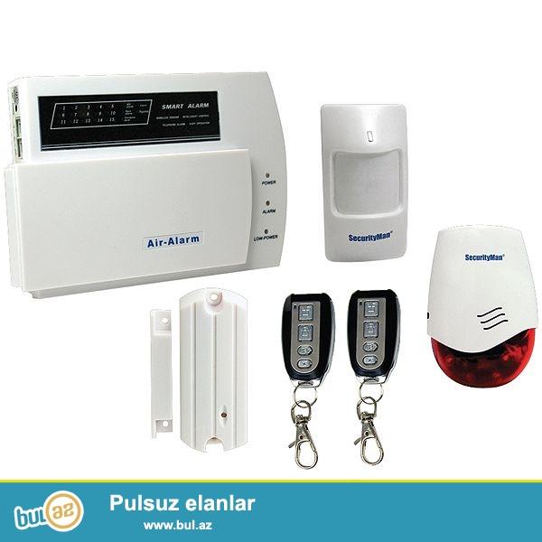 Alarm-siqnalizasiya sistemi 0554508814<br />  <br /> Alarm-siqnalizasiya sistemi ister ev, isterse de sirket, muessise, erazi ucun uygun tehlukesizlik sistemidir...