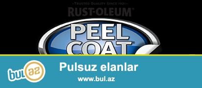 """Rezinə çevrilən boya """"Rust Oleum"""" USA <br /> Amerika istehsalıdır..."""