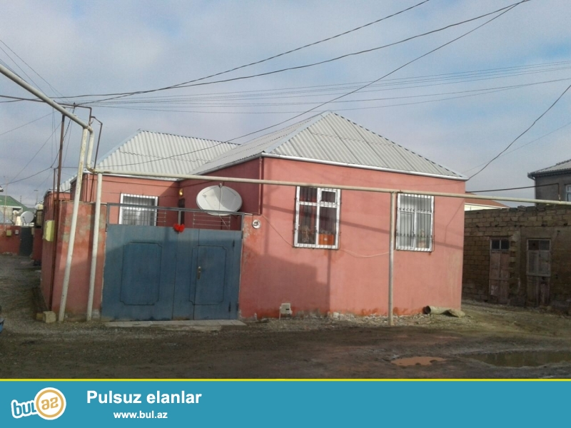 Masazir q yoldan 300 metr məsafədə 1.5 ot torpagin icinde 3 otaq təmirli heyet evi satilir...