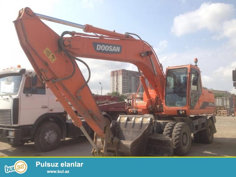 DOOSAN 210WV. <br /> Buraxılış ili 2011. <br /> Motosaat 7300. <br /> Təkərləri ÖZKA Türkiyə istehsalıdır, yeni dəyişdirilib...
