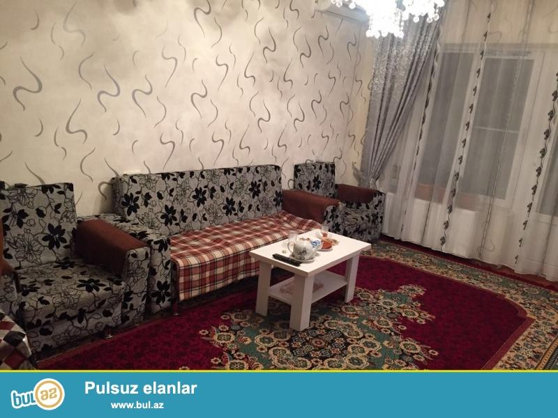 Cдается 3-х комнатная квартира в центре города, в Наримановском районе, по проспекту Ататюрка, рядом с памятником А...