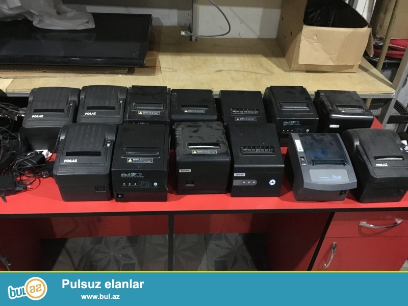 barkod printer ve scanerlerin complekt satisi 180 azn...