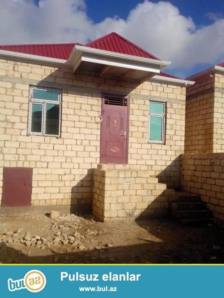 Masazirda merkezde 2 otaqli heyet evi satilir. 1 sot torpaqda 60 kv m...
