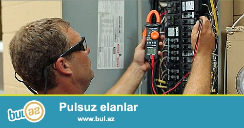 Evlərdə müasır standartlara uyğun elektrik işlərinin görülməsi <br /> Tel : 050 3361580