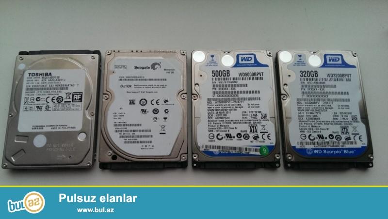 NoteBook Üçün HDD Satılır. Yaddaşı 500GB-dır. <br /> 10ədədir Tərtəmiz işləyir Heç Bir Problemi Yoxdur...
