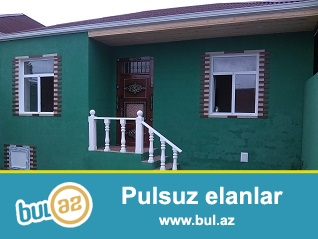 OZ EVIMDIR Maştağada 293 saylı məktəbin yanında 3 otaqlı super təmirli həyət evi satılır...