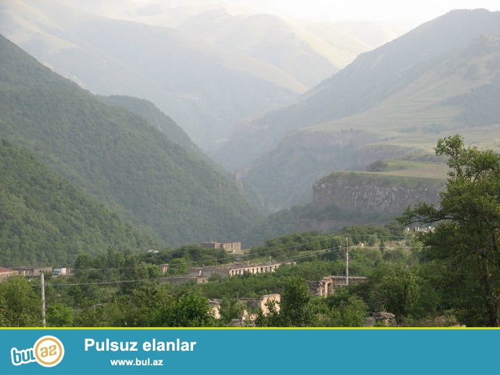 Samaxi rayonu  Cuxur Yurd qesebesinde 12 sotluq torpaq satilir...