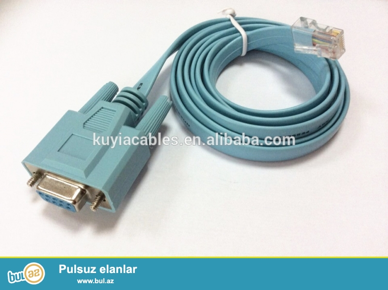 RJ45  VGA Console Rollover Cable<br />
