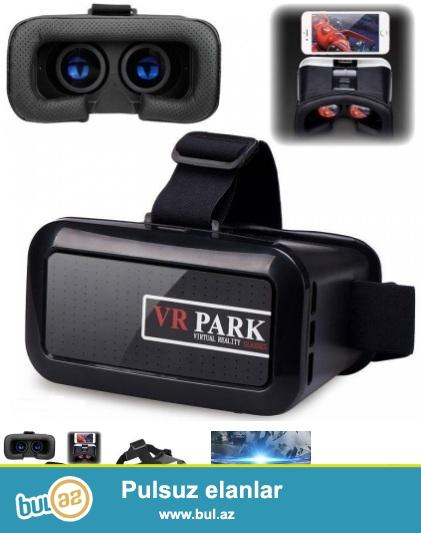 3D Mobil telefon üçün virtual eynək.