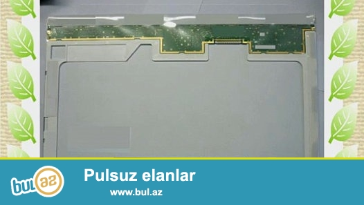 LCD 17.1 notbuk ekrani satilir. sleyfti ustundedir. Yaxshi veziyyetdedir.