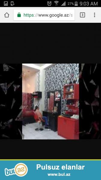 Yeni açılmış salona saç ustası və manikür ustası tələb olunur