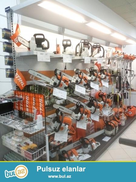 Proqres-Garden firması 1996-cı ildən Almaniyanın tanınmış 3 brend Şirkəti ilə əməkdaşlıq edir - Viking, Gardena və dunyaca məhşur STİHL şirkəti...