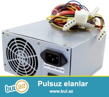 Ehtiyyat hisseler satilir.... Blok pitaniya 300W - 10Azn, Cooler Intel - 10Azn, HDD(IDE) 40gb - 7Azn, HDD(IDE)80Gb -10 Azn, Video card 128Mb, 64Mb - 15 Azn, DVD-RW (IDE) - 10Azn