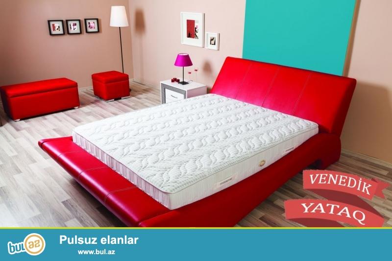 """Türkiyə istehsalı,yüksək keyfiyyətli """"VENEDİK"""" yataq 6 aylıq faizsiz kreditlə 1140 AZN..."""