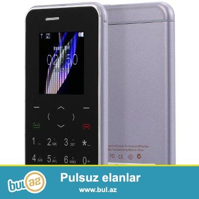 Yeni Qutuda.Çatdırılma var<br /> <br /> Rengli Ekran ultranazik mini Telefon Taç klaviaturalı vibirasiyalı Aiek i6<br /> <br /> Gsm:900 1800 (optional 850 1900)<br /> Ekran: 1...
